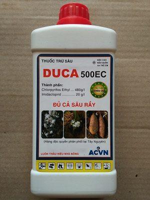 Duca 500EC thuốc trừ sâu rầy mọt đục - sùng đất