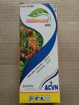 hiddencard 250Ec - thuốc trừ sâu bệnh