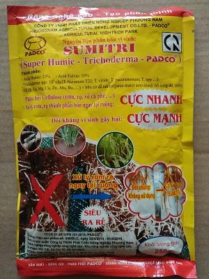 phân bón vi sinh Sumitri - men ủ vỏ cà - sử lý rơm rạ