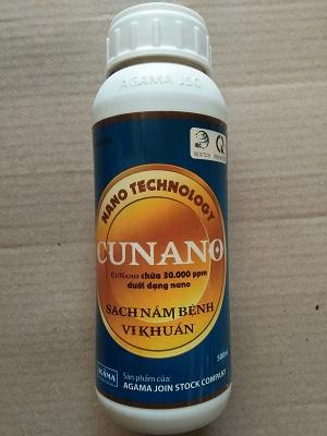 cunano ngăn ngừa nấm bệnh, vi khuẩn - đồng na nô -đồng