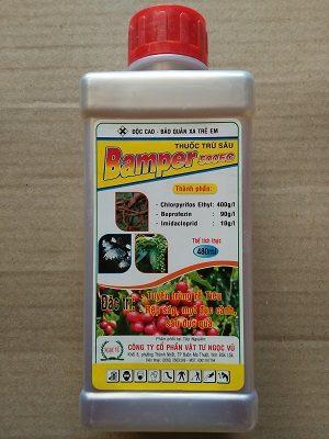 thuốc trừ sâu Bamper 500ec - tuyến trùng bamper