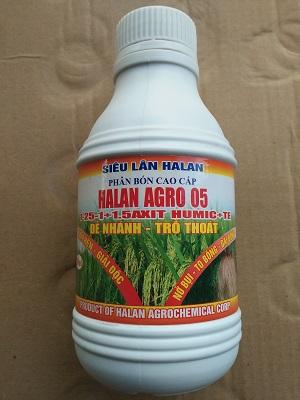 Halan agro 05 phân bón cao cấp