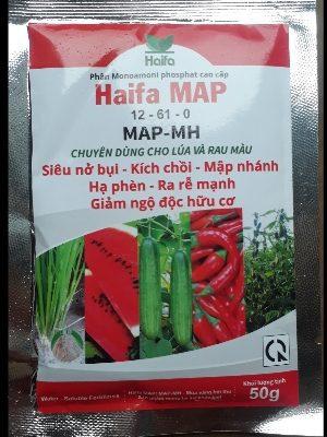 Phân haifa map 12 - 61, thuốc ra rễ
